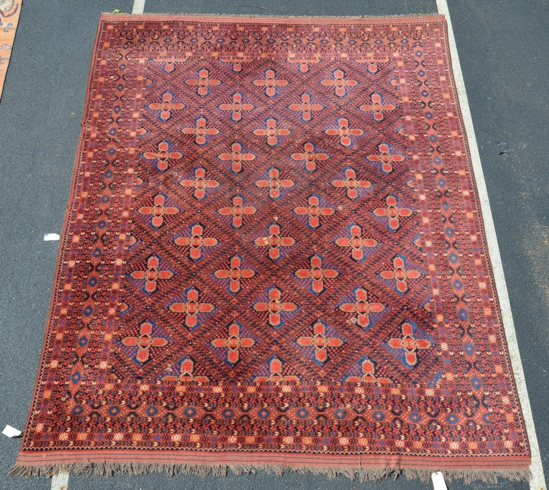 """Turkish Carpet, 9'10"""" x 12'7"""""""