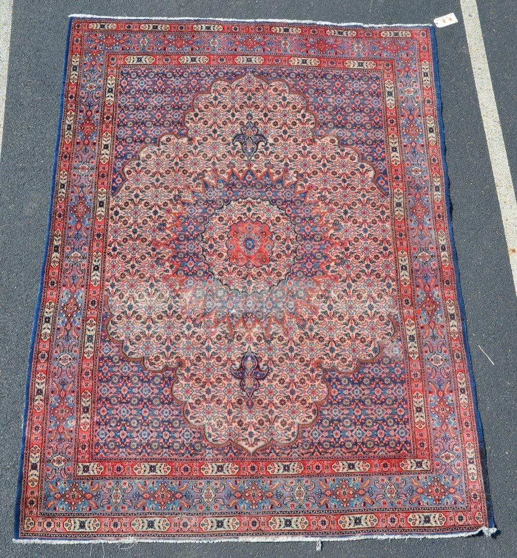 """Tabriz Carpet, 7' x 9'6"""", some wear"""