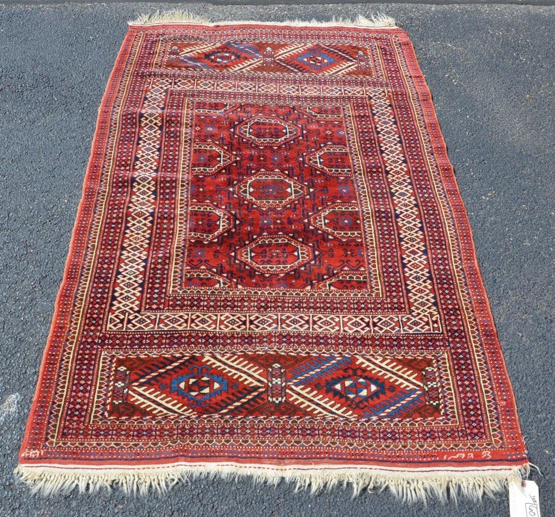 """Turkish carpet, 3'9"""" x 5'10"""""""