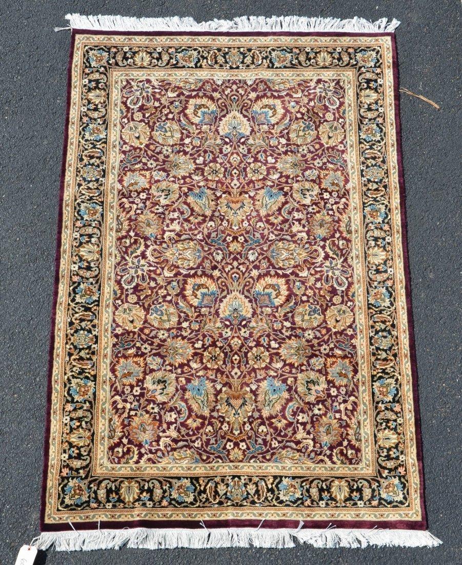 """Indo Persian Carpet, 4'1"""" x 6'3"""""""
