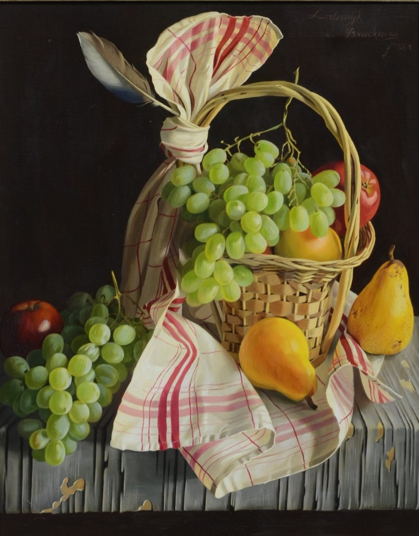 Lodewijk Bruckman (Dutch, 1913-1980), oil on canvas,