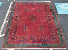 Nichols Chinese art deco carpet 91 x 118