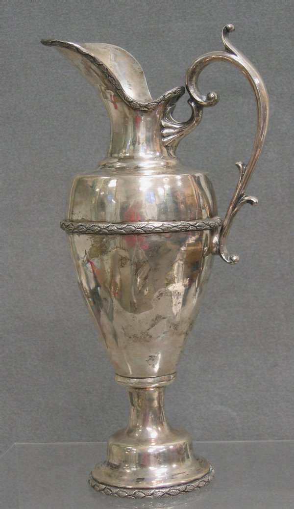 27: Mexican sterling silver ewer
