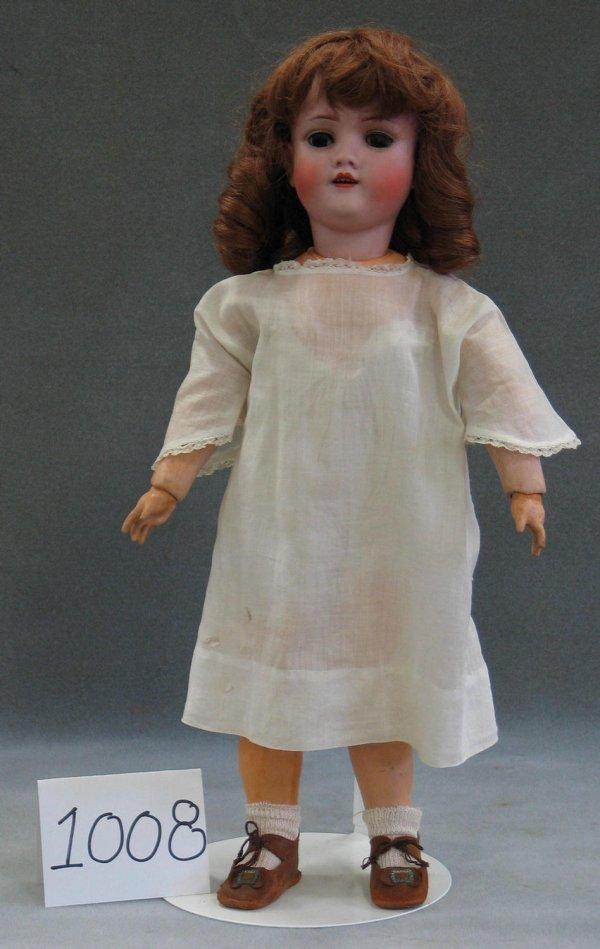 1008: Kley and Hahn Walkure bisque head child doll