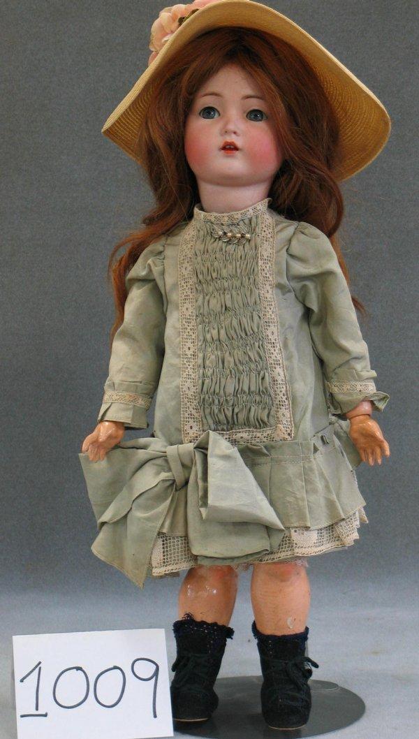1009: Kammer and Reinhardt bisque head child doll with