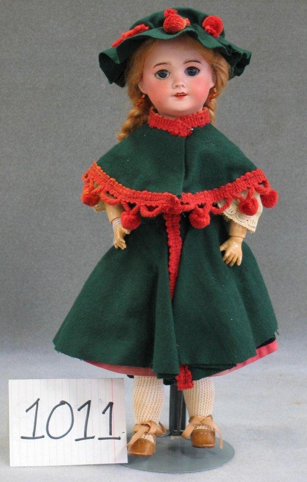 """1011: SFBJ bisque head child doll, marked """"SFBJ, 301, P"""