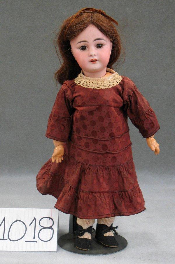 "1018: Simon Halbig bisque head child doll 939, 15"""