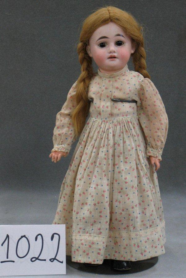 1022: Armand Marseiiles bisque head child doll, 1894