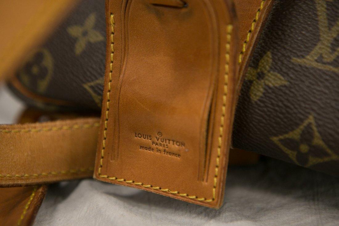 "(3) Louis Vuitton soft bags, portfolio, 15"" x 12"", JQD - 4"