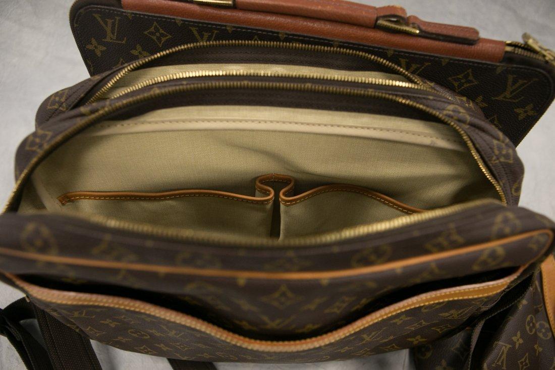 "(3) Louis Vuitton soft bags, portfolio, 15"" x 12"", JQD - 6"