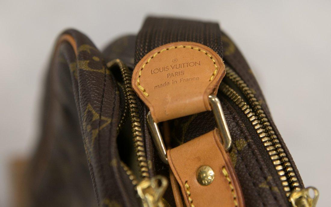 "(3) Louis Vuitton soft bags, portfolio, 15"" x 12"", JQD - 8"