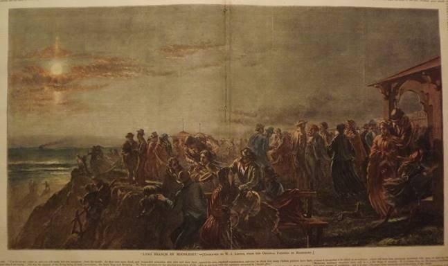 Charles G Rosenberg (American, 1818-1879), oil on - 5