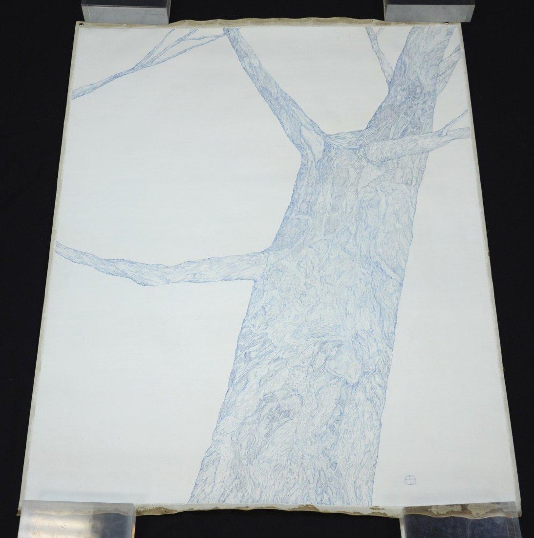 Edward Baynard (American, b 1940), oil on canvas, Study