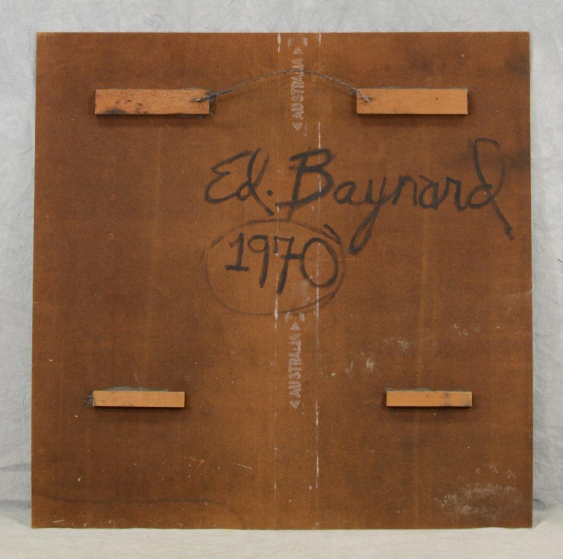 Edward Baynard (American, b 1940), mixed media on - 3