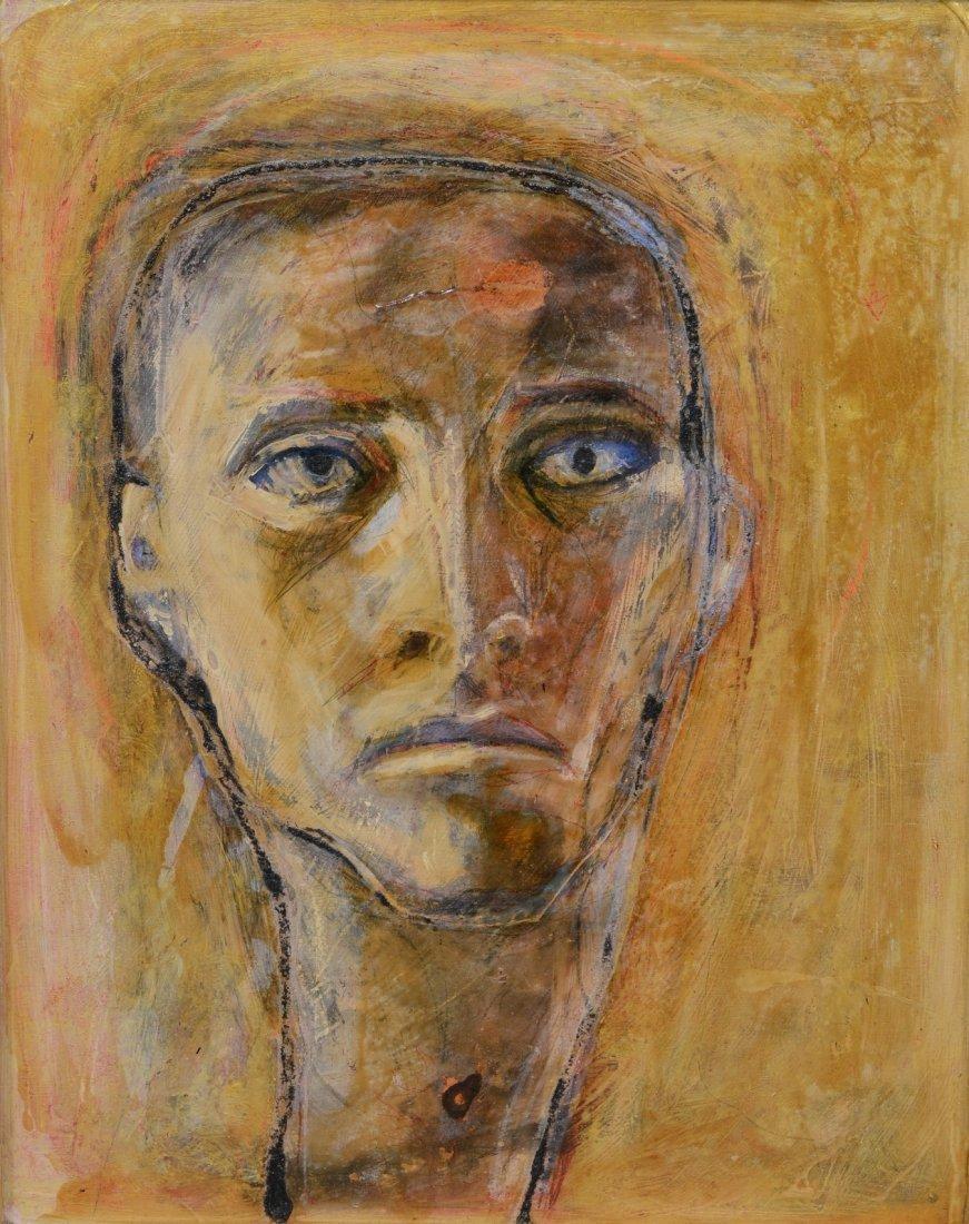 Rachel Bliss (American, b 1962),  oil on board,