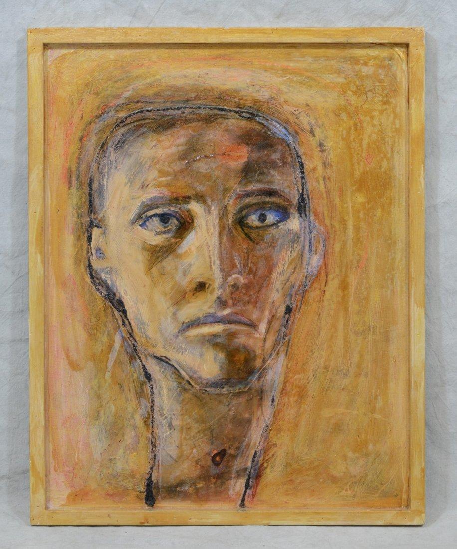 Rachel Bliss (American, b 1962),  oil on board, - 2