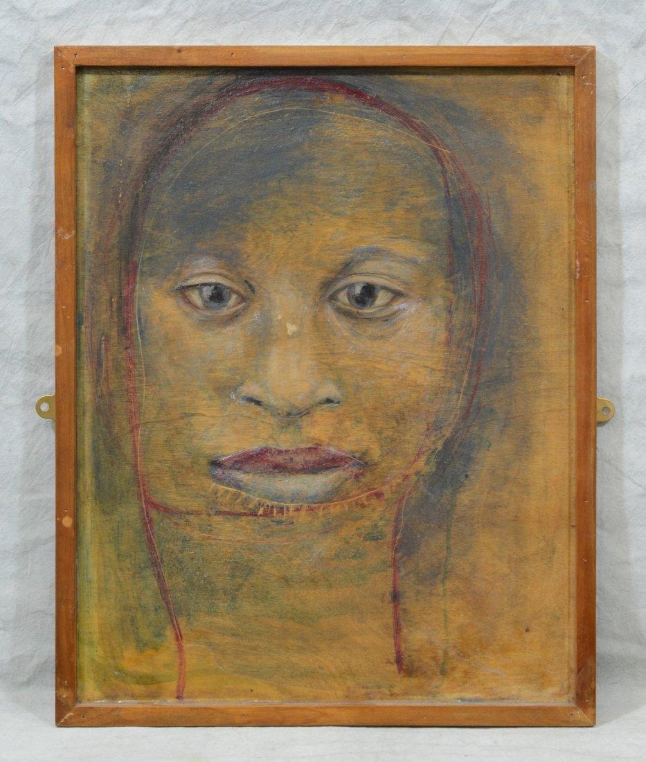 Rachel Bliss (American, b 1962), oil on wood panel, - 2