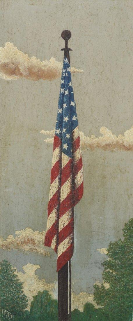 F J Forrestal (American, 20th Century), oil on