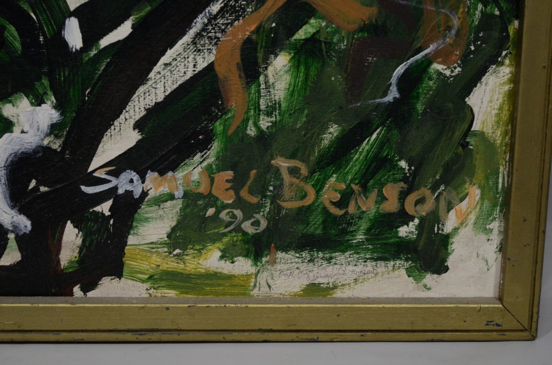 Samuel Benson (American, PA, 20th Century), oil on - 2