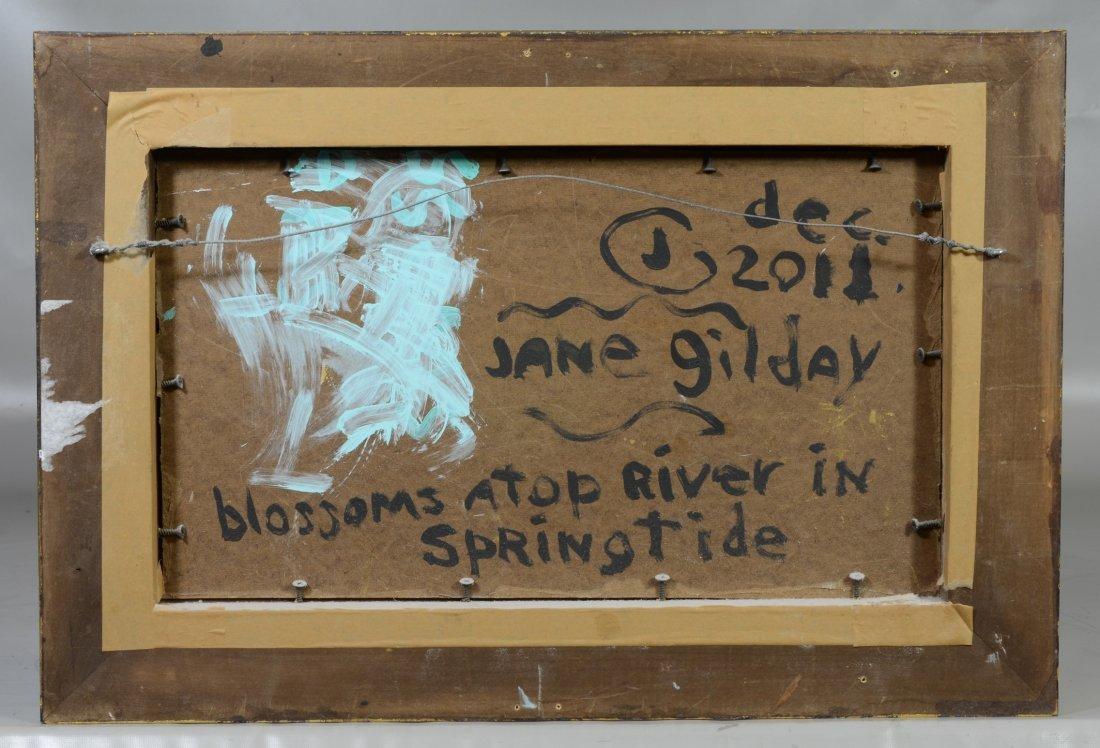 Jane Gilday (American, active PA/NJ, b 1951), oil on - 3
