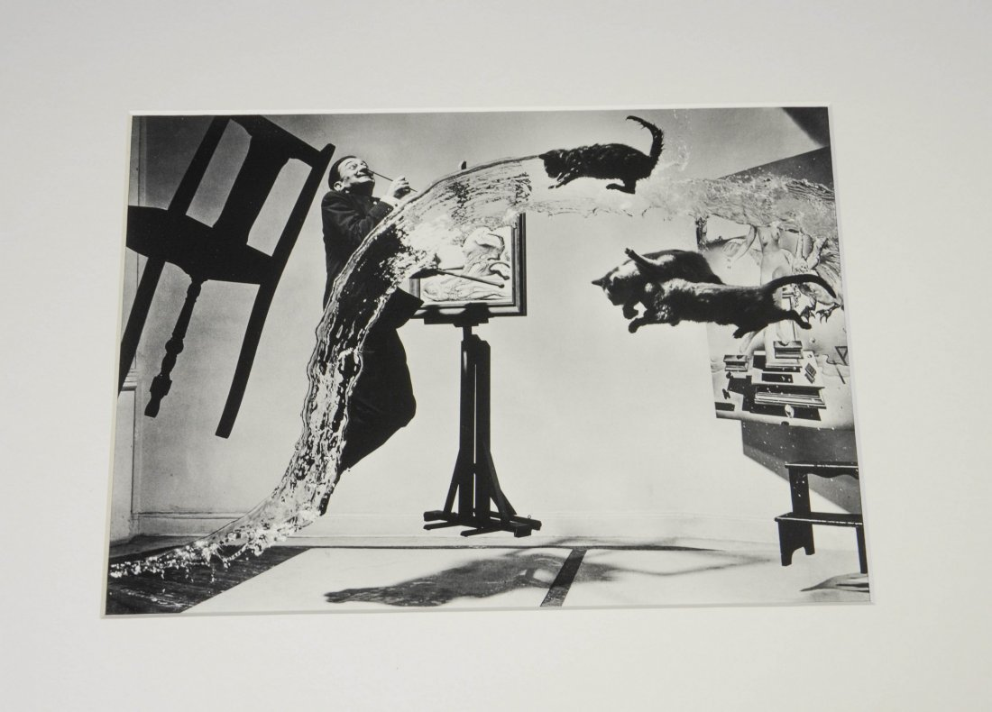 Philippe Halsman (Latvian/American, 1906-1979), Dali: - 3
