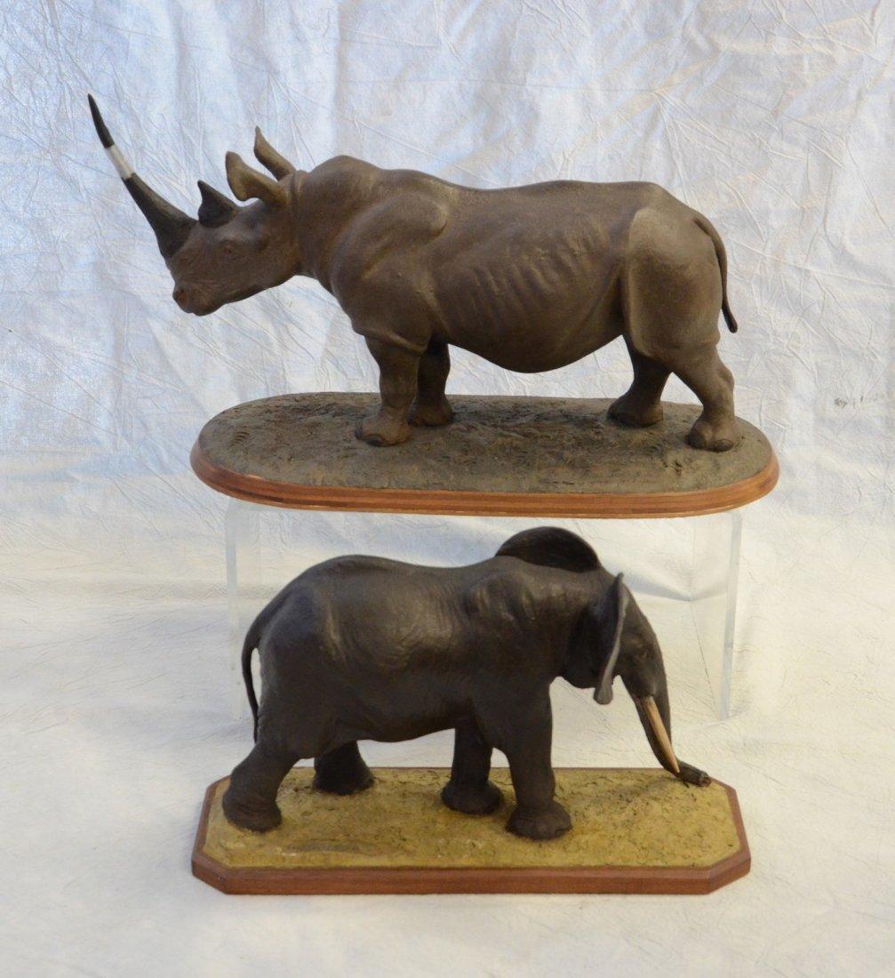 (2) Louis Paul Jonas Studios Indian elephant - 2
