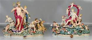 Pr Meissen groupings of Neptune and Amphitrite, second