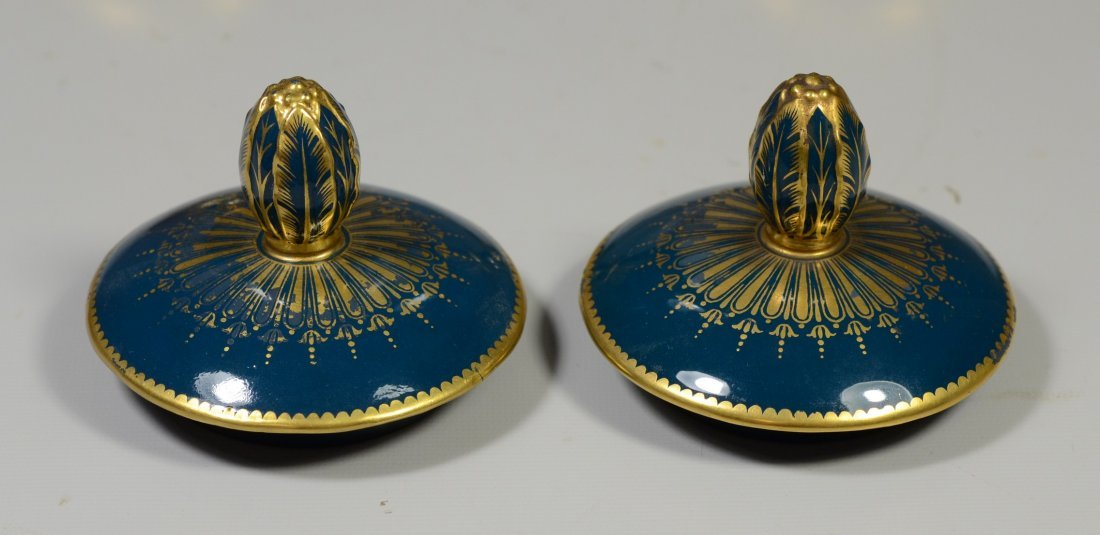 Pair of Mintons Louis Solon Decorated Pate-sur-Pate - 7