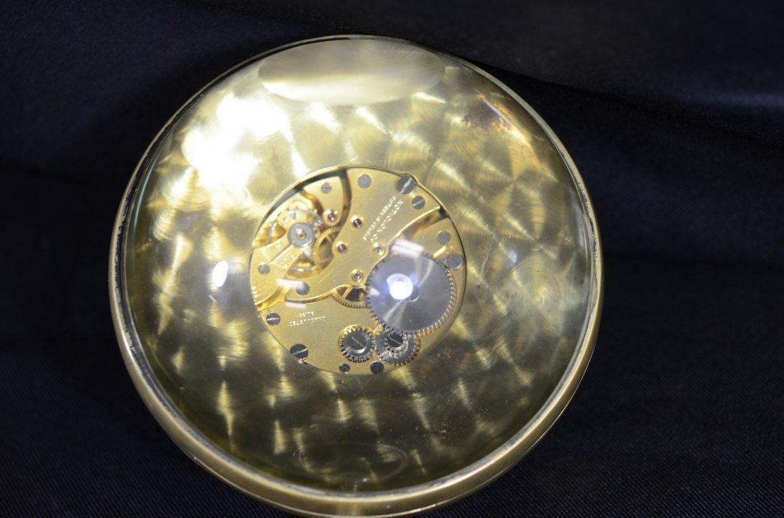 Neiman Marcus crystal ball desk clock, Xoticlox Swiss - 5