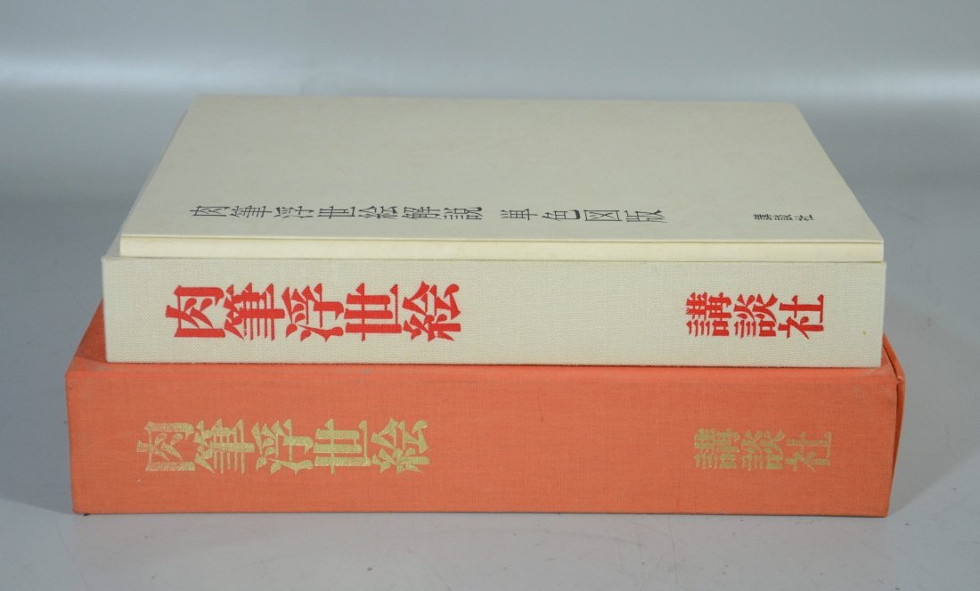 Japanese book of prints in fitted case, Collection of - 2