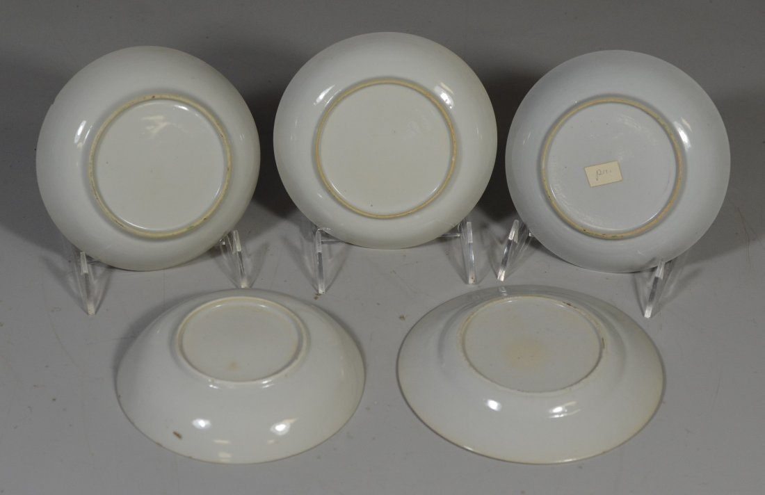 (5) Pieces Chinese Export porcelain, c/o pair of - 2