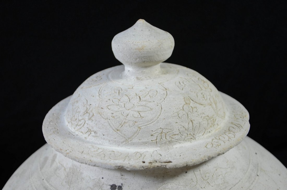 Almost identical pair of Chinese Sung style covered - 2
