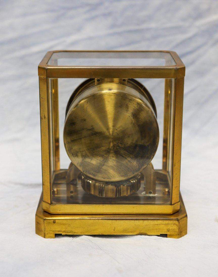 LeCoultre Atmos shelf clock, rising top, caliber 528-6, - 2