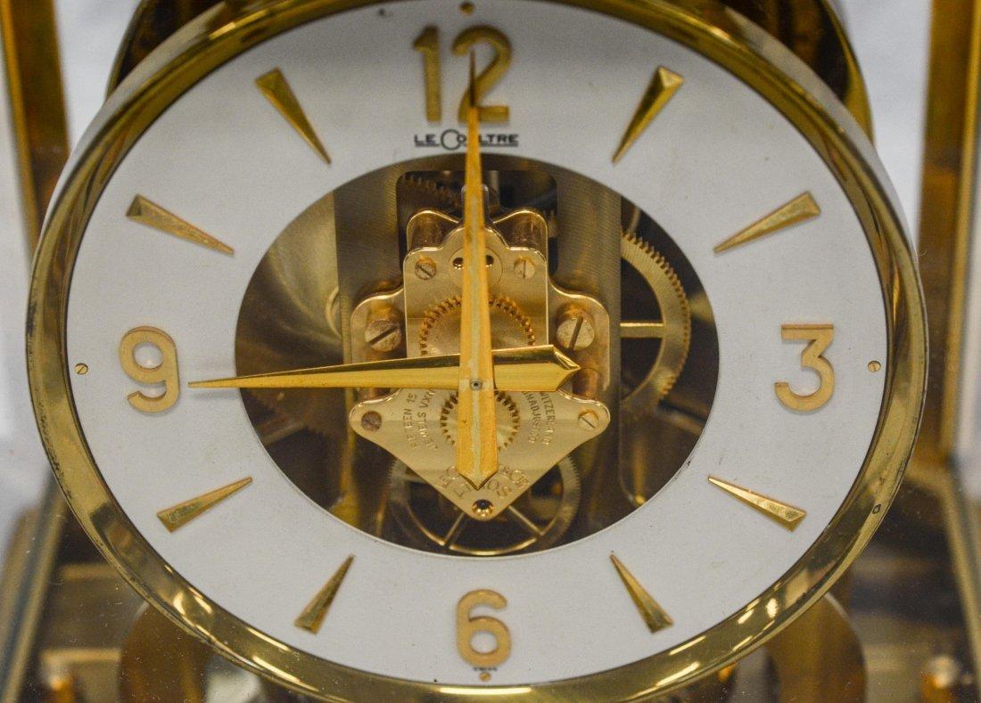 LeCoultre Atmos shelf clock, rising top, caliber 528-6, - 3