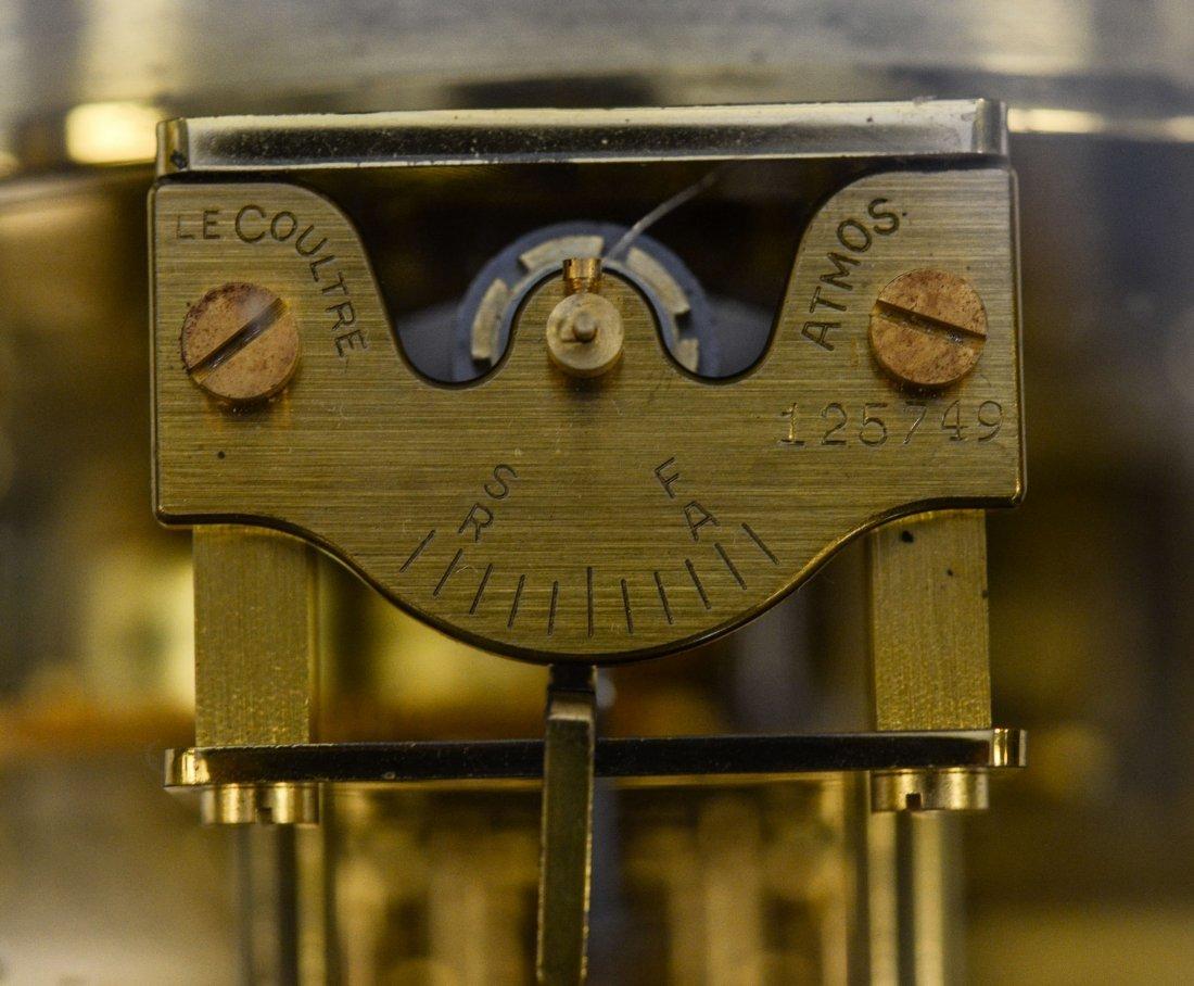 LeCoultre Atmos shelf clock, rising top, caliber 528-6, - 4