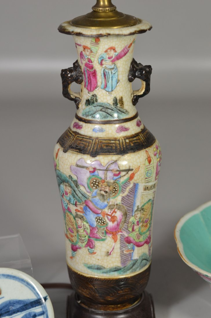 (5) Pieces Asian porcelain, including Famille Rose - 3