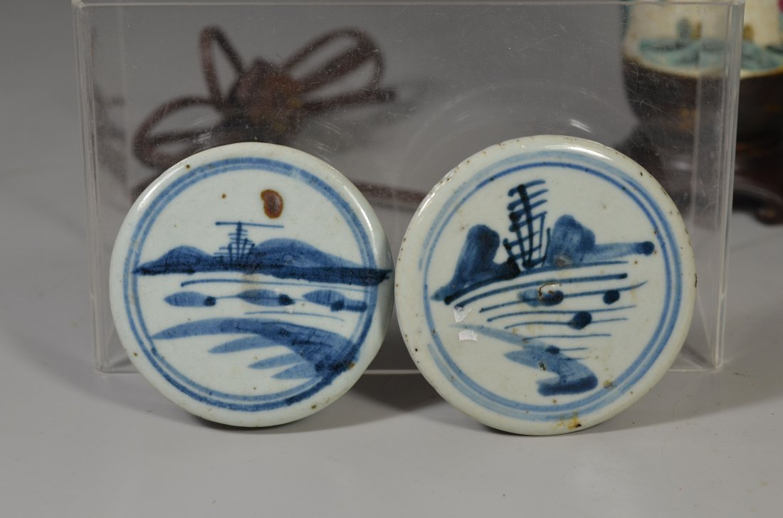 (5) Pieces Asian porcelain, including Famille Rose - 5