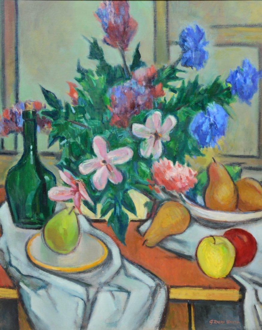 G Ralph Smith (1941 - 2010) Still life painting,
