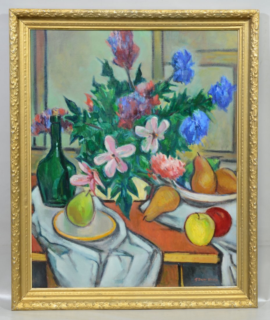 G Ralph Smith (1941 - 2010) Still life painting, - 2