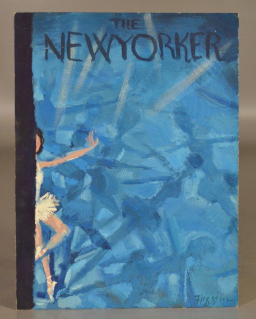 Donald Higgins (20th century) Study for New Yorker