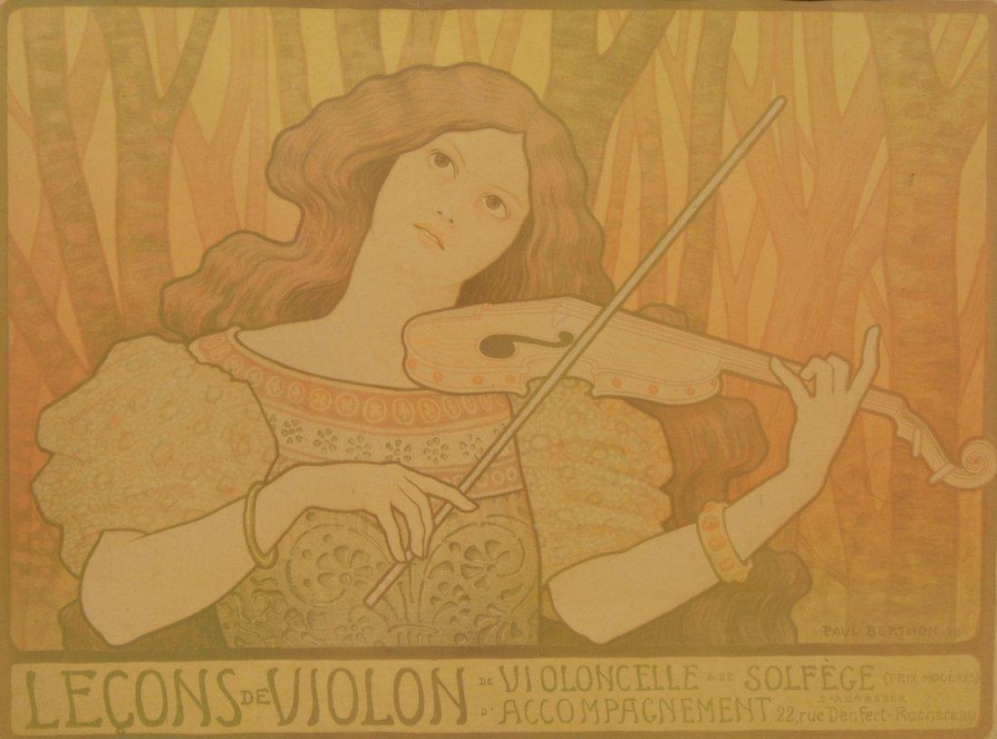Paul Emile Berthon (French, 1871-1909), Art Nouveau