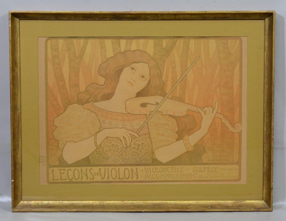 Paul Emile Berthon (French, 1871-1909), Art Nouveau - 2