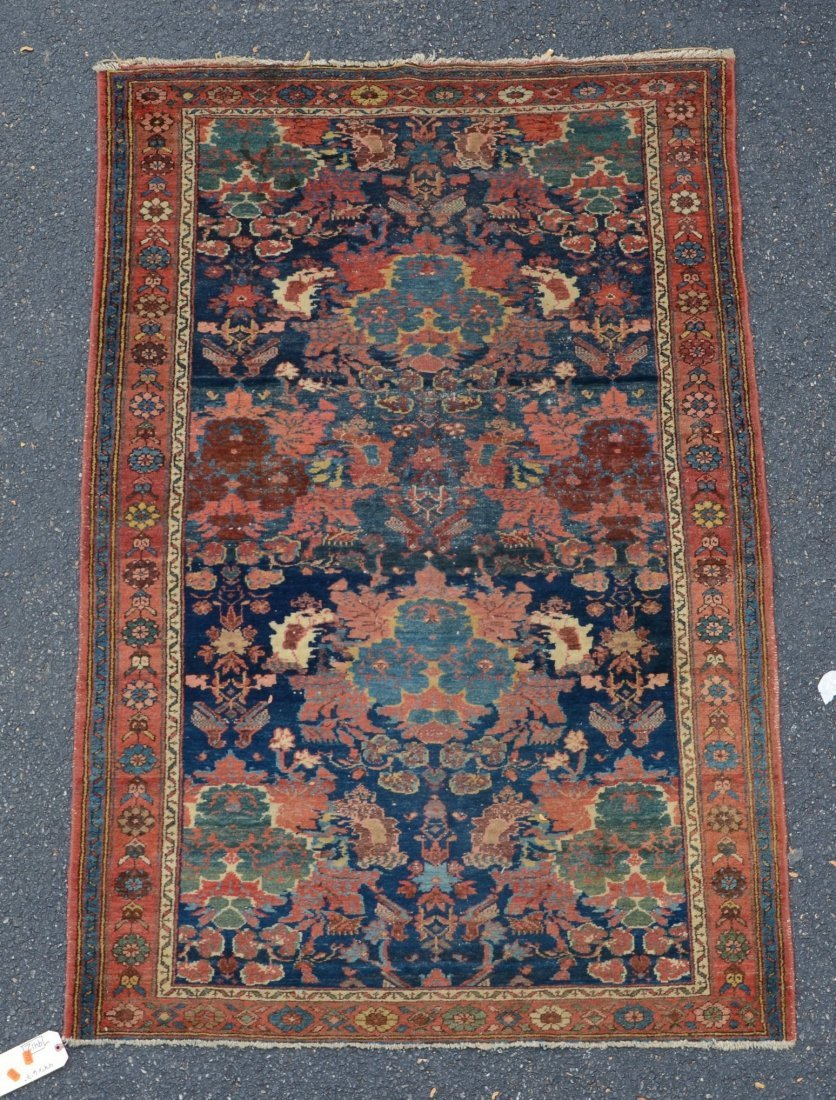"""Hamadan carpet, 4'4"""" x 6'7"""""""