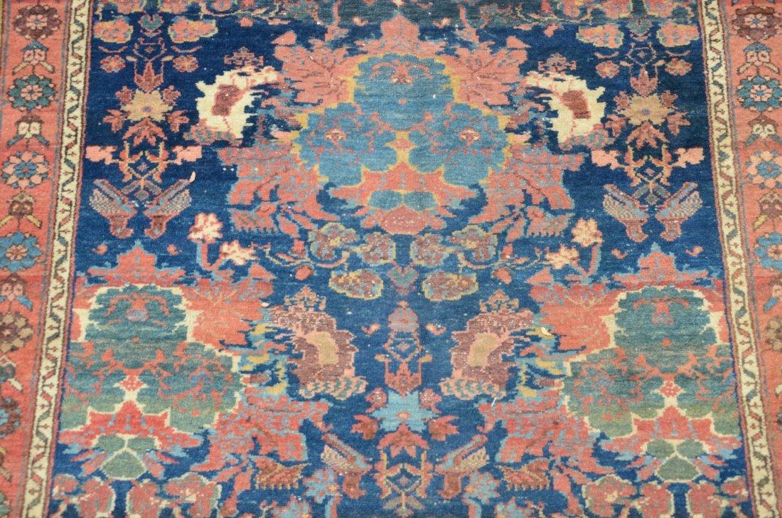 """Hamadan carpet, 4'4"""" x 6'7"""" - 2"""