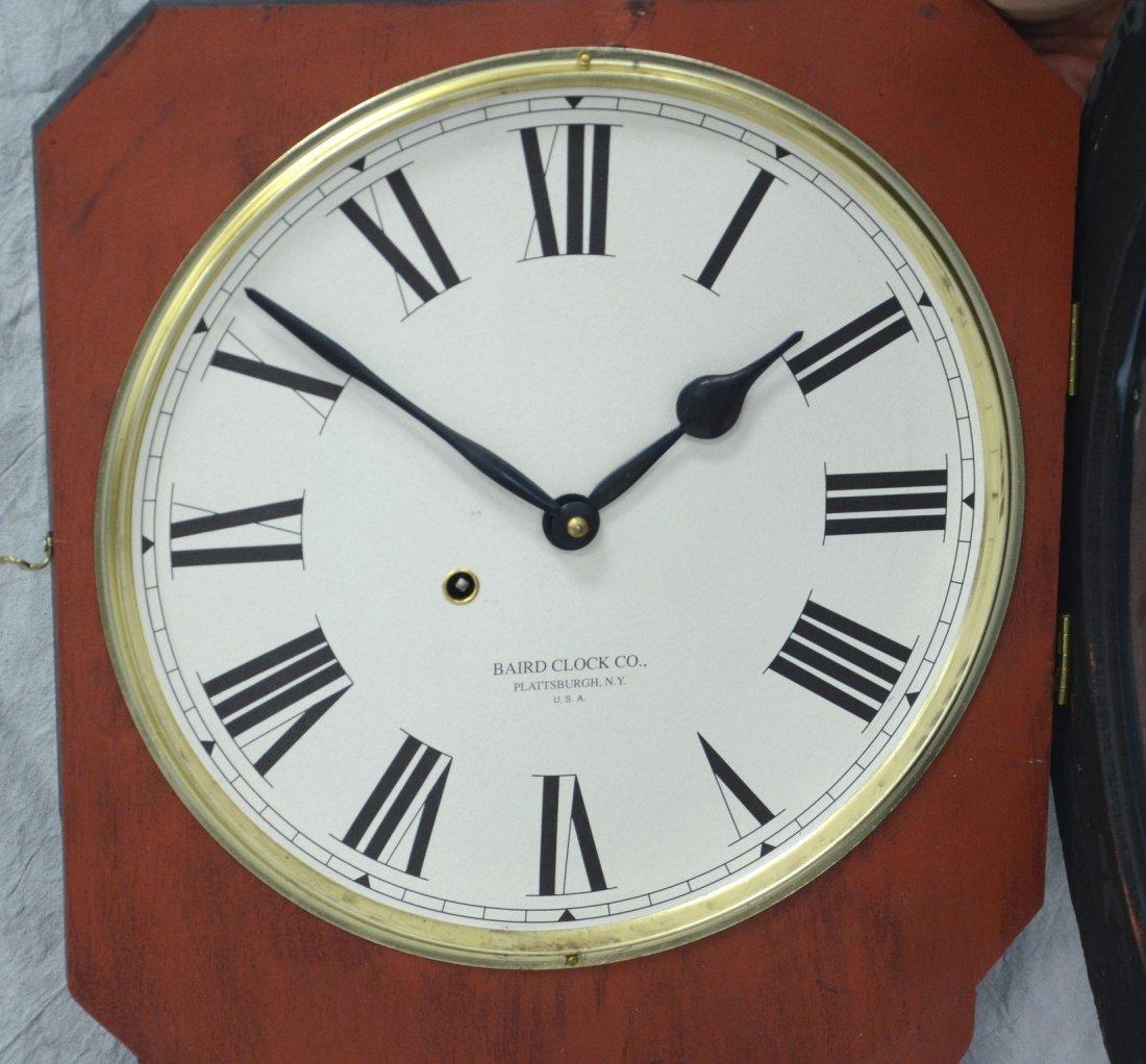 "Replica Baird Moxie advertising clock, 32"" h - 2"