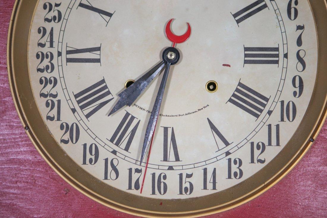 "Replica Jolly Jar advertising clock, 32"" h - 3"