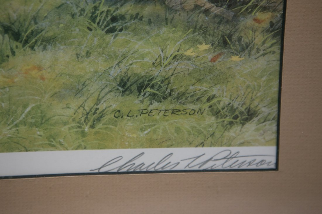 "Charles L Peterson ""Neighbors: Barn Raising"" Lithograph - 3"