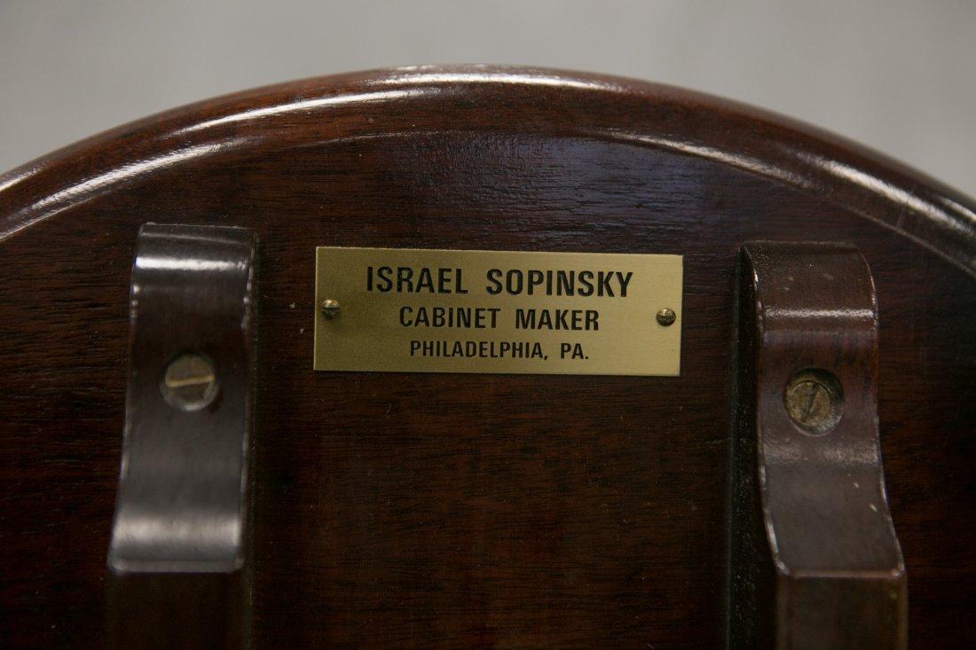 Companion pair of Israel Sopinsky Philadelphia cabinet - 3