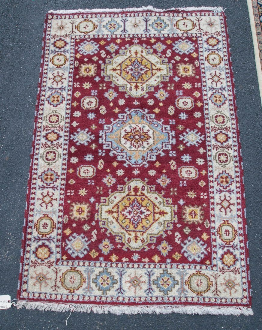 "Semi-antique Turkish rug, 3-11"" x 6'"