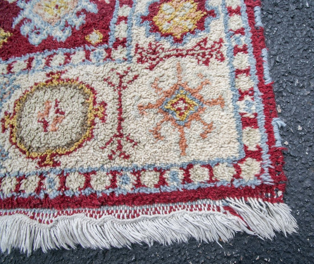 "Semi-antique Turkish rug, 3-11"" x 6' - 2"